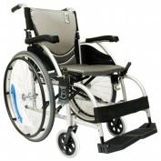 Karman Healthcare S-Ergo105F18SS Ergonomic Wheelchair-Pearl Silver