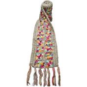 Nirvanna Designs SC07 Flower Crochet Multi Colour Scarf