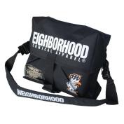 Blancho Bedding MB-B601-BLACK Classic Style - Neighborhood - Black Multi-Purposes Messenger Bag / Shoulder Bag