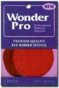 Advanced Enterprises 1045 Wonder Pro Red Rubber Sponge 2 Ct.