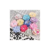 Prima Flowers 556099 Meadow Lark Handmade Paper Flowers-Melisse .190cm . 12-Pkg