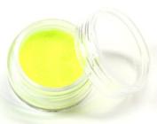 UV Neon Yellow Body Glitter Party Accessory