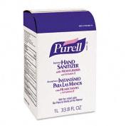 Gojo 215608CT Instant Hand Sanitizer NXT Refill 1000-ml Pouch 8/Carton
