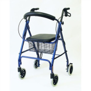 Karman Healthcare R-4608-BL 4 wheel Rollator-Blue