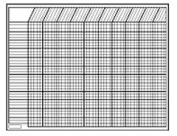 CREATIVE TEACHING PRESS CTP5081 CHART INCENTIVE HORIZONTAL WHITE 28 X 22