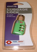 Talus SmoothTrip ST-LK8003-NGGRN TSA Approved 3 Dial Combo Lock - Green
