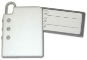 Ruda Overseas 116 Luggage Tag with Combination