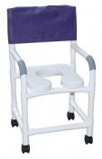 MJM International 118-3-SSDE Shower Chair