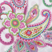 Fabric Editions MDGCPS-PP Fabric Palette Charm Pack 13cm . x 13cm . Cuts 100 Percent Cotton 20-Pkg-Punch of Paisley - Pack of 6