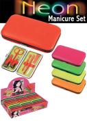 Puka 3185 Neon Manicur Set