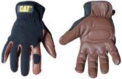 Cat Gloves Rainwear Boss Mfg CAT012216L Large Brown Deerskin and Spandex Gloves