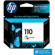 HP 110 Tri-colour Inkjet Cartridge