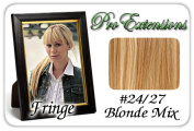 Brybelly Holdings PRFR-2427 No. 24-27 Blonde Mix Pro Fringe Clip In Bangs