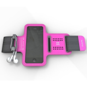 XtremeMac Sportwrap for Apple iPhone 5/5s, Pink