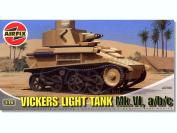 Vickers Light Tank Mk.VI, a/b/c - 1:76 Scale - A02330 - Airfix