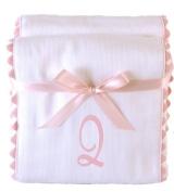 Princess Linens Garden Pique Burp Pad Set