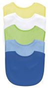 Green Sprouts Basic Waterproof Absorbent Terry Bib 5 Pack - Boy