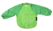 mum2mum Long Sleeve Baby Bib 18/36mths Green