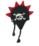 Born To Love Baby Boy's Mohawk Hat With Spikes Skull