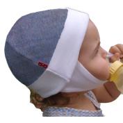Dots on Tots Ear Flap Baby Hat - Organic Cotton Lined Merino Wool