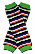 Precious Eggs Unisex-Baby Halloween Stripes Leg Warmer Multi
