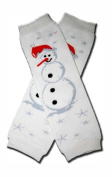 Precious Eggs Unisex-Baby Christmas Small Snowman Leg Warmer Multi