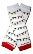 Precious Eggs Unisex-Baby Bamboo-Christmas Lights Leg Warmer Multi