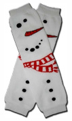 Precious Eggs Unisex-Baby Christmas Big Snowman Leg Warmer Multi