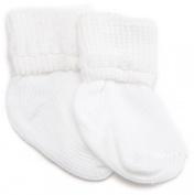 Jefferies Socks Rock-A-Bye Bootie, 6 Pack, White