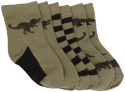 Country Kids Baby-boys Infant Dinosaur 3 Pair Socks