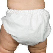 I.C. Collections Boys White Batiste Nappy Cover Bloomers