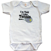 I'm Told I Like Tennis Bodysuit