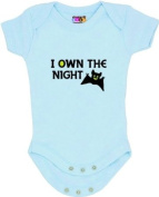 """I Own the Night"" Blue Bodysuit/Onesie"