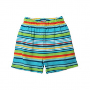 Zutano Baby-boys Infant Multi Stripe Short