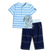 Miniville Infant Boy's Pant Set , Size 3M
