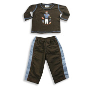 Mis Tee V-Us - Newborn and Infant Boys Long Sleeve Pant Set
