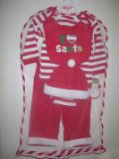 Babygear Unisex-baby Newborn I Love Santa 5 Piece Set In Tulle Bag