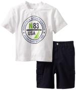 Nautica Baby-Boys Infant Usa N83 Short Set
