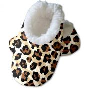 Snoozies Baby's Leopard Zebra Footies