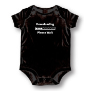 """Attitude Rompers """"Downloading"""" Baby Romper"""