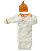Baby Soy Oh Soy Organic Bundler and Knot Hat Newborn Gift Set, Zebra, Neutral Baby