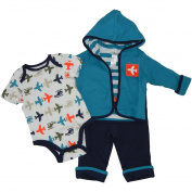 Offspring- Baby Boys Airport 3 pack Jacket Set