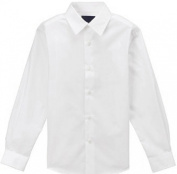 Gino Formal White Dress Shirt for Boys From Baby to Teen