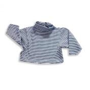Mulberribush - Infant Boys And Infant Girls Long Sleeve Striped Turtleneck