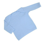 Plain Coloured Long Sleeved Top / T Shirt Newborn-24 months in 9 Colours