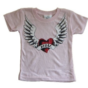 Heart and Wing Tattoo Baby Tshirt
