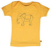TwOOwls Elephant Short Sleeve Tee -100% organic cotton