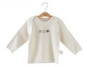 New Arrival!Naturecolored baby T-shirt with 100% Organic cotton