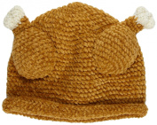 San Diego Hat Baby-Girls Newborn Chenile Turkey Hat
