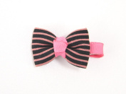Stylish Bow - Baby Girl & Toddler Hair Clip - Red, Pink, Blue & Black